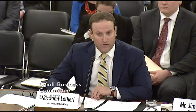 Mpa Testifies For Rate Increase To >> U S Senate Committee On Small Business And Entrepreneurship Hearing